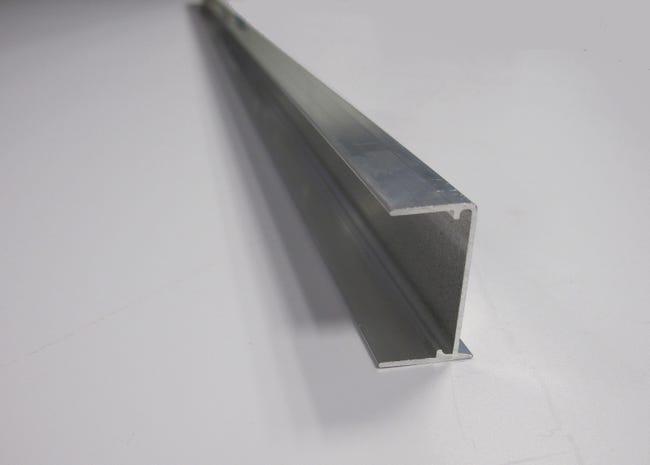 Profil Obturateur Pour Plaque Ep 32 Mm Aluminium L 1 25 M Leroy Merlin