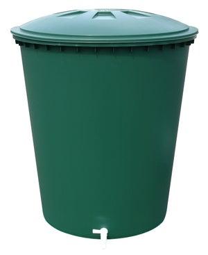 Image : Cuve à eau cylindrique vert 510 l GARANTIA