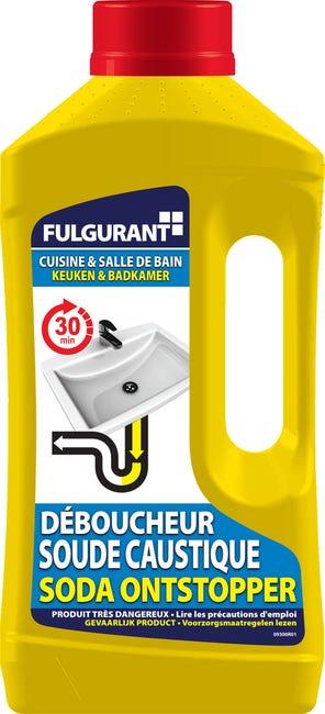 Deboucheur Soude Liquide Fulgurant Sanitaire 1 L Leroy Merlin