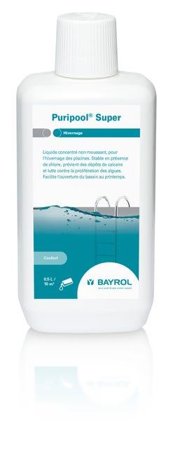 Hivernage Piscine Bayrol Puripool Super Liquide 1 L Leroy Merlin