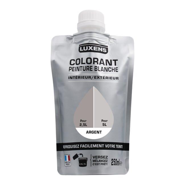 Colorant Spécial Peinture Acrylique Luxens 250 Ml Argent Leroy Merlin