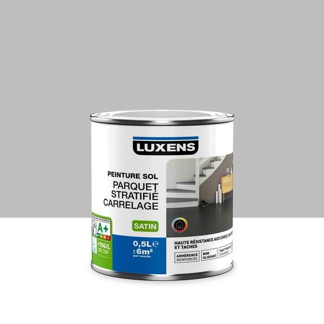 Peinture Sol Interieur Haute Resistance Luxens Gris Galet N 5 0 5 L Leroy Merlin
