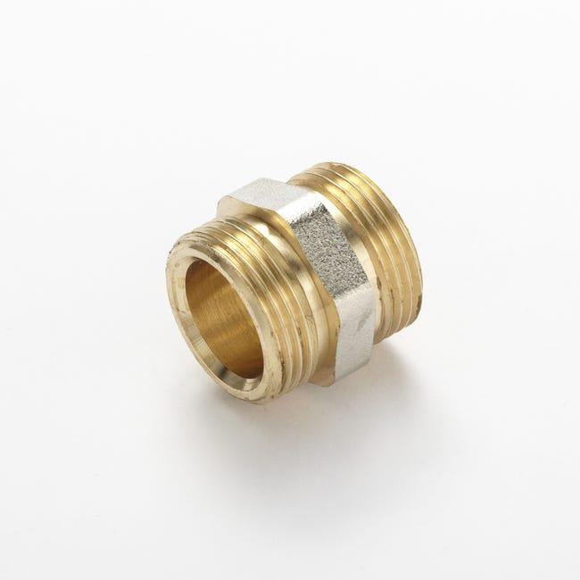Connecteur Universel A Visser Laiton M 20 X 27 Pour Tubes En Cuivre Et En Per Leroy Merlin
