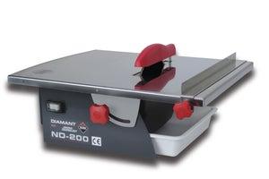 Image : Scie de carrelage électrique radiale RUBI Nd-200, 882 W L.1200 mm