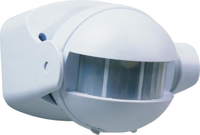 Detecteur De Mouvement 180 Blanc Smartwares Es34 Sw Leroy Merlin
