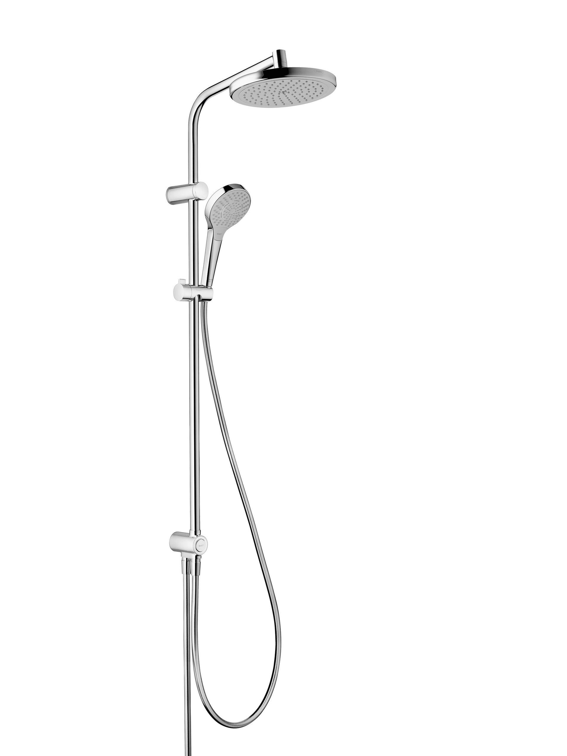 colonne de douche sans robinetterie hansgrohe myselect