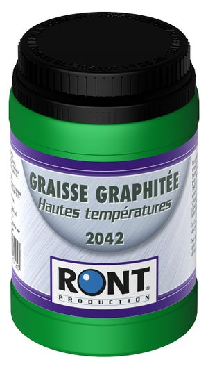Image : Graisse graphitée en pot, 200 g RONT PRODUCTION