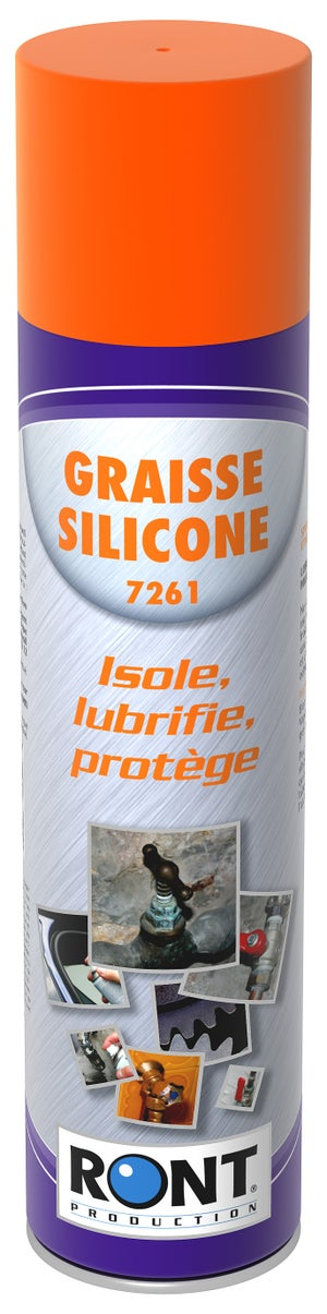 Image : Graisse silicone en aérosol, 400 g RONT PRODUCTION