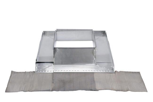 Garniture De Cheminee Reglable Zinc Scover Plus Leroy Merlin