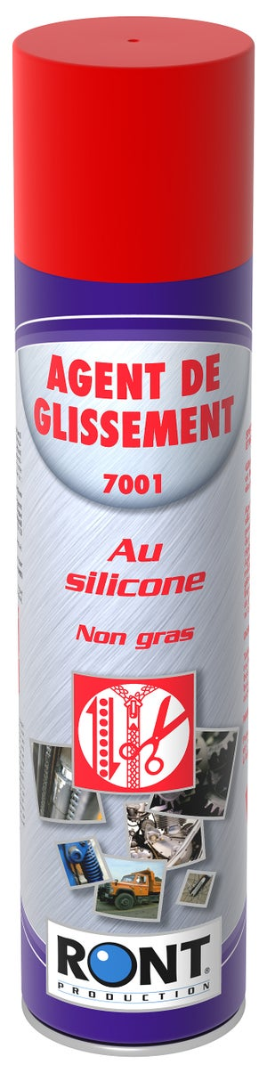 Image : Agent de glissement au silicone en aérosol, 400 ml RONT PRODUCTION