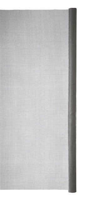 Moustiquaire fibre de verre gris, H.1.4 x L.2 m