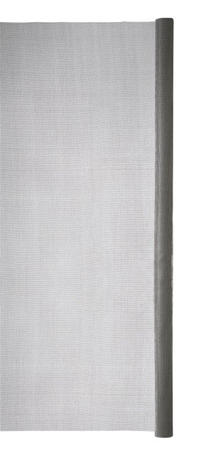 Moustiquaire fibre de verre gris, H.1 x L.2 m