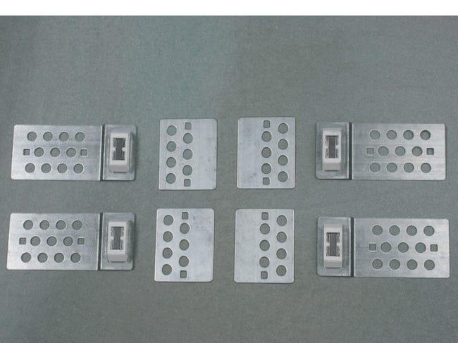 Systeme Pour Trappe De Visite Magnetique L 15 X H 16 Cm Sanitrap Leroy Merlin