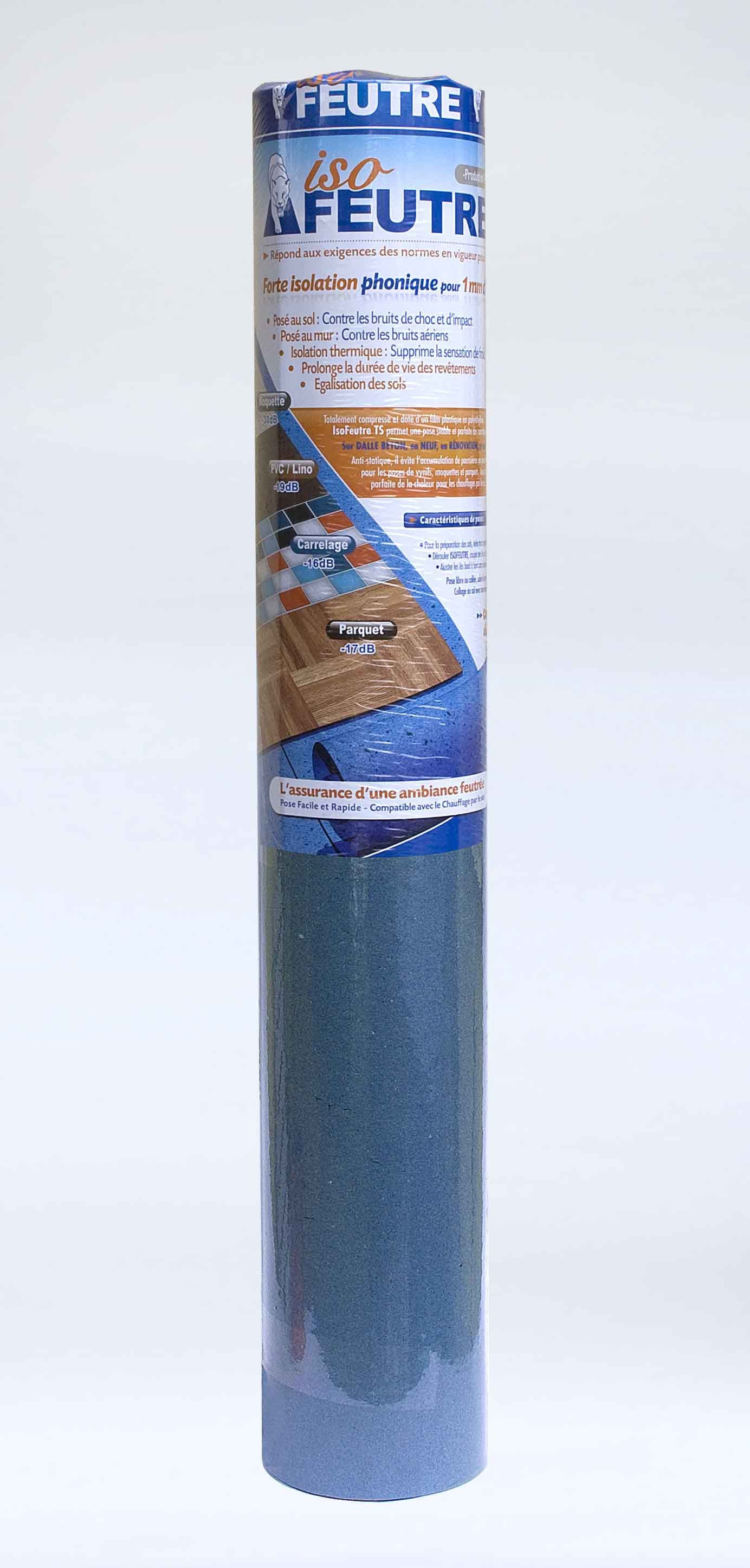 Sous-couche tous supports, couvre 10 m²  Leroy Merlin