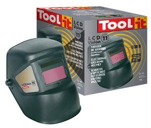 Image : Masque de soudeur automatique TOOL-IT Lcd vision 11