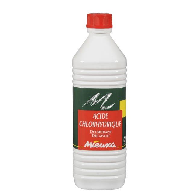 Acide Chlorhydrique Mieuxa 1 L Leroy Merlin