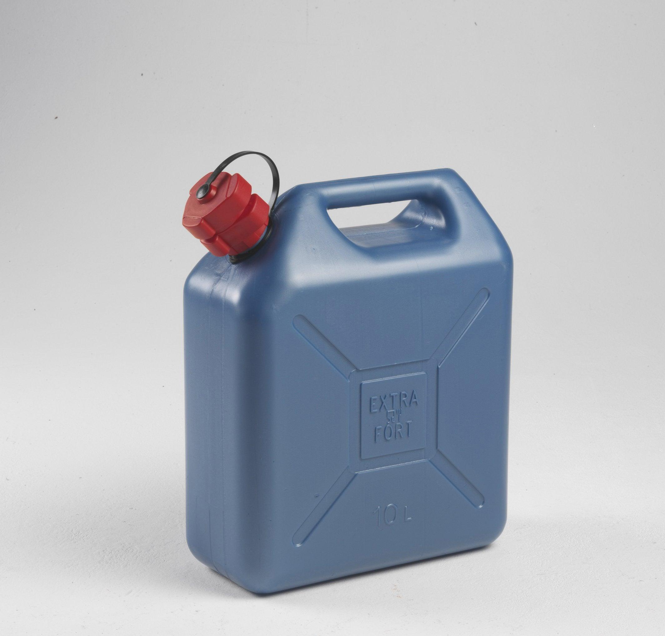 Jerrican En Polyéthylène Eda Bleu 10 L