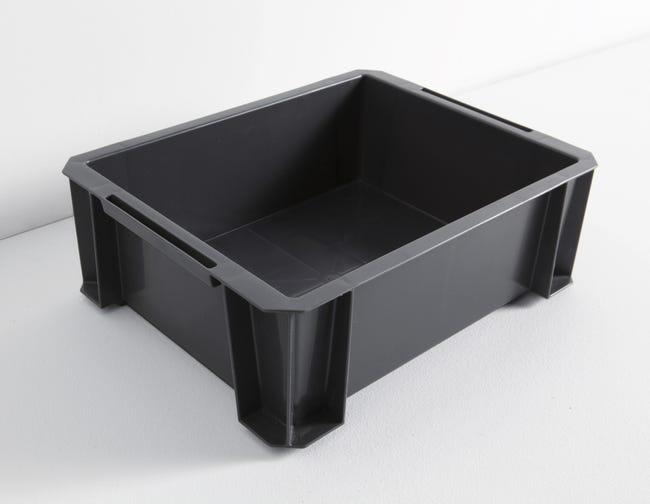 Bac De Manutention Stacking Box Plastique L 35 X P 27 5 X H 12 Cm 8 L Leroy Merlin