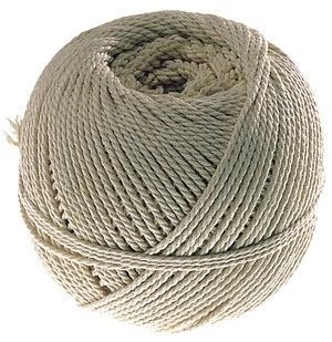 Image : Cordeau coton câblé, 25 m /diam. 2.5 mm NESPOLI