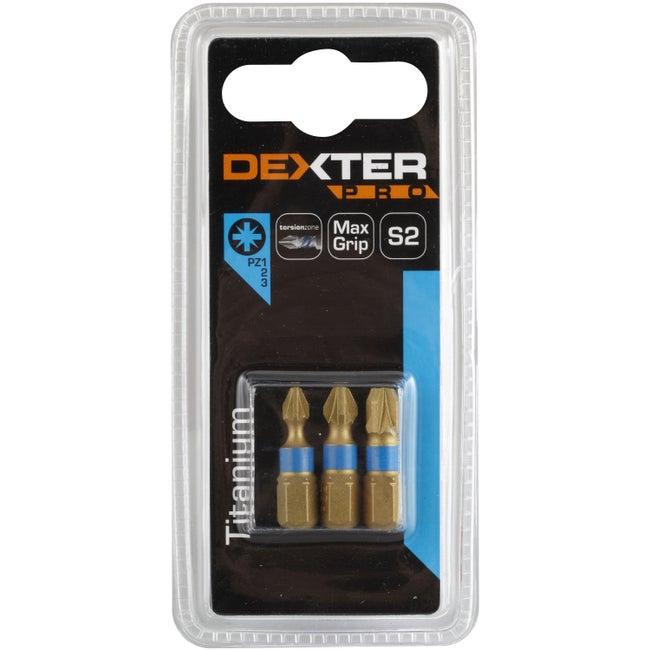 Lot De 3 Embouts Pz 123 Dexter Pro