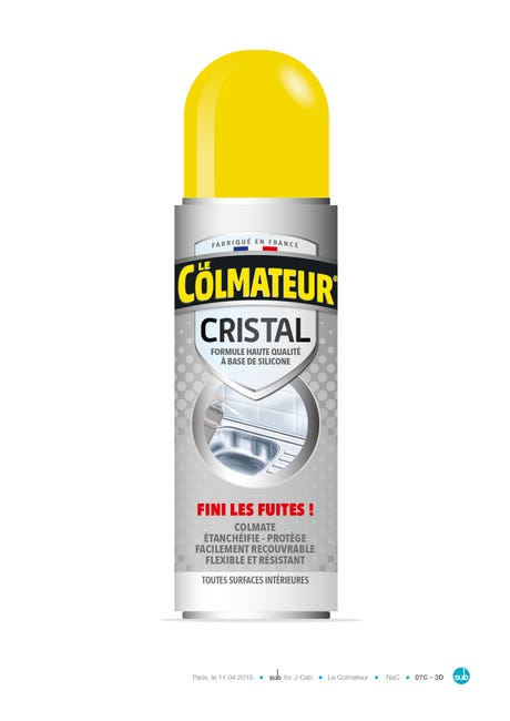 Spray Bitumeux Le Colmateur Dhaze 250 Ml Leroy Merlin