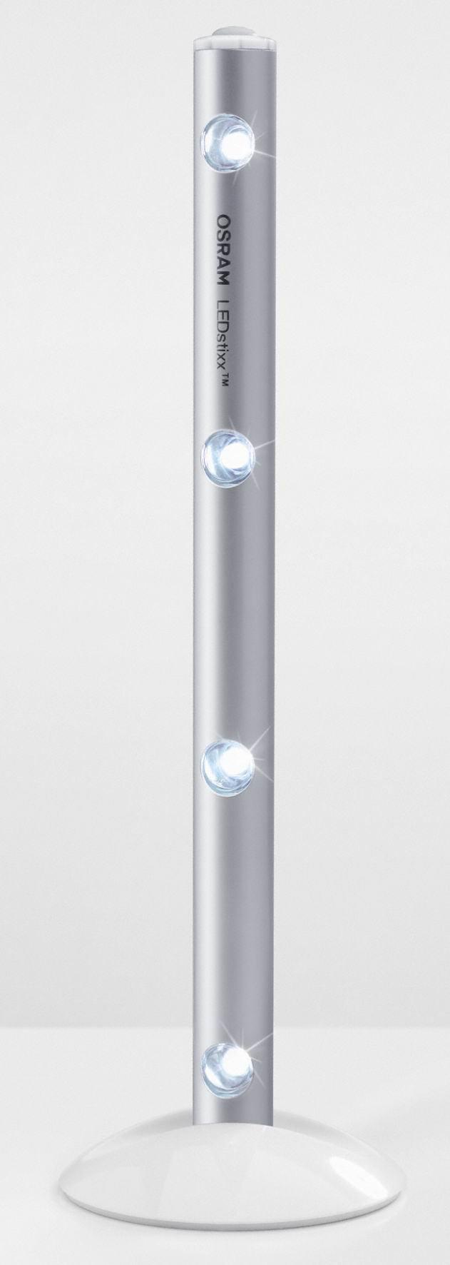 Eclairage A Piles Ledstixx Led Integree Blanc Froid Leroy Merlin