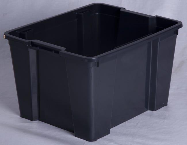 Bac De Manutention Plastique L 45 X P 35 X H 26 6 Cm Retrait Magasin