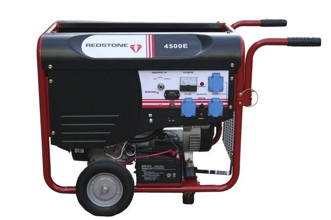 Groupe électrogène Essence De Chantier Redstone R4500 4000 W