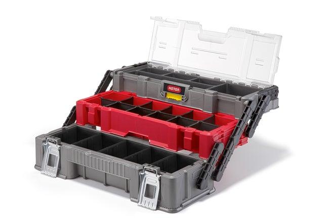 Boîte à Outils Accordéon Keter L530 Cm Noir Rouge