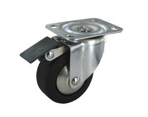 Image : Roulette pivotante à platine, Diam.65 mm