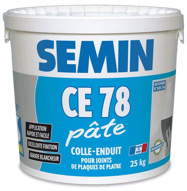 Enduit Joint Plaque Platre Ce78 Semin Pate 25kg Leroy Merlin