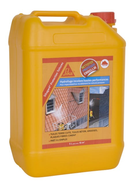 Impermeabilisant Sika Sikagard 5 L Incolore Leroy Merlin