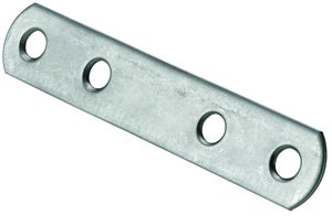 Image : 1 ferrure d'assemblage poli HETTICH, l.80 mm