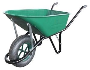 Image : Brouette roue gonflée acier galvanisé Slim ALTRAD, 110 l / 200 kg