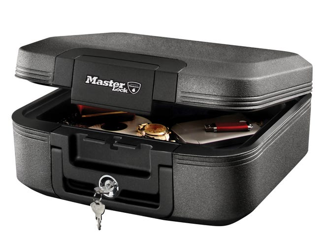 Mallette Securisee Master Lock Autoportante H 16 8 X L 35 5 X P 36 3 Cm Leroy Merlin