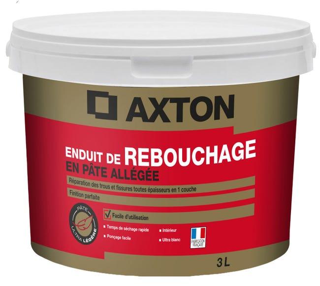 Enduit De Rebouchage Axton 3 L En Pate Pour Plaque De Platre Leroy Merlin
