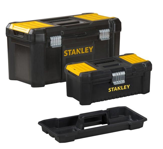 Lot De Boîtes à Outils Stanley L48 Cm Noir