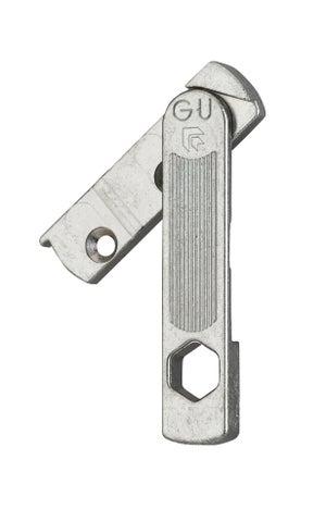 Image : Entrebâilleur de fenêtre gauche acier gris, THIRARD 13952