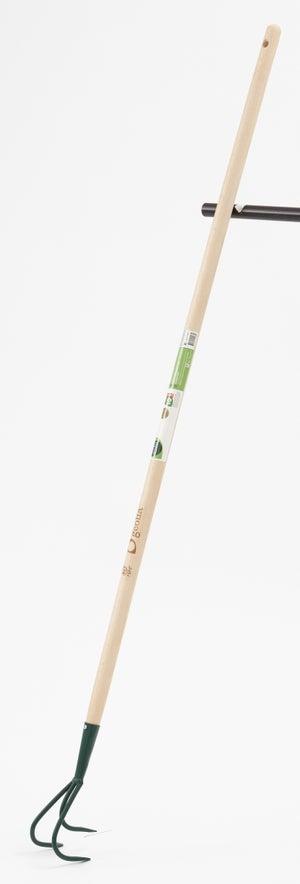 Image : Griffe acier GEOLIA manche bois L.130 cm