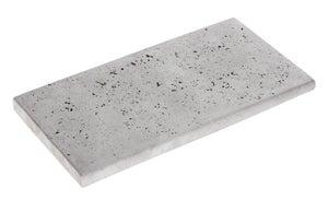 Margelle Kairouan en pierre reconstituée gris, L.60 x l.30 x Ep.3.5 cm