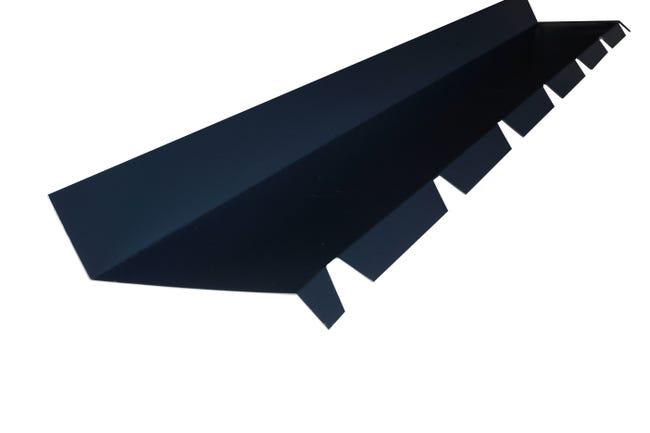 Faitiere Contre Mur Pour Plaque Nervuree Gris L 2 1 M Leroy Merlin