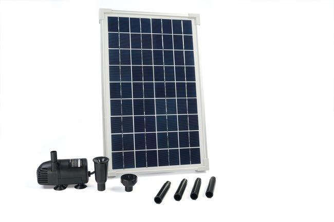 Pompe De Bassin Solaire Solarmax 600 Debit De 610 L Leroy Merlin