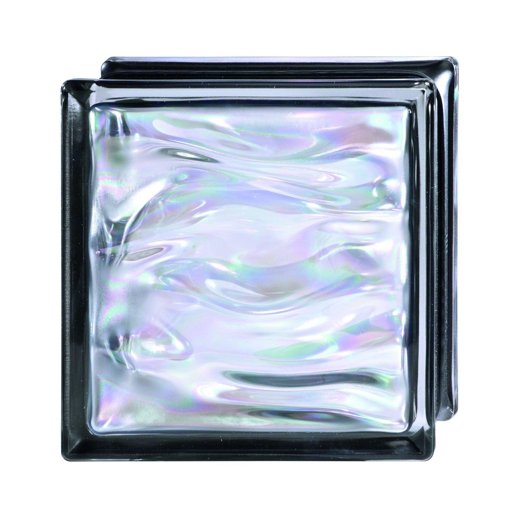 profilé de bordure forte pour 8 cm briques de verre Aluminium blanc 2,50 m