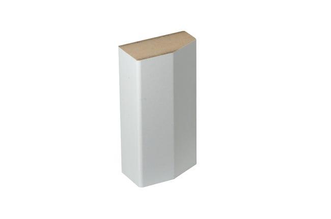 Sabot De Plinthe Parquet Et Sol Stratifie Decor Blanc L 8 Cm X H