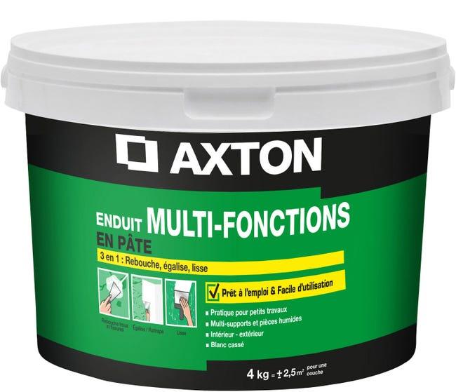 Enduit Multifonction Axton 4 Kg En Pate Pour Plaque De Platre Leroy Merlin