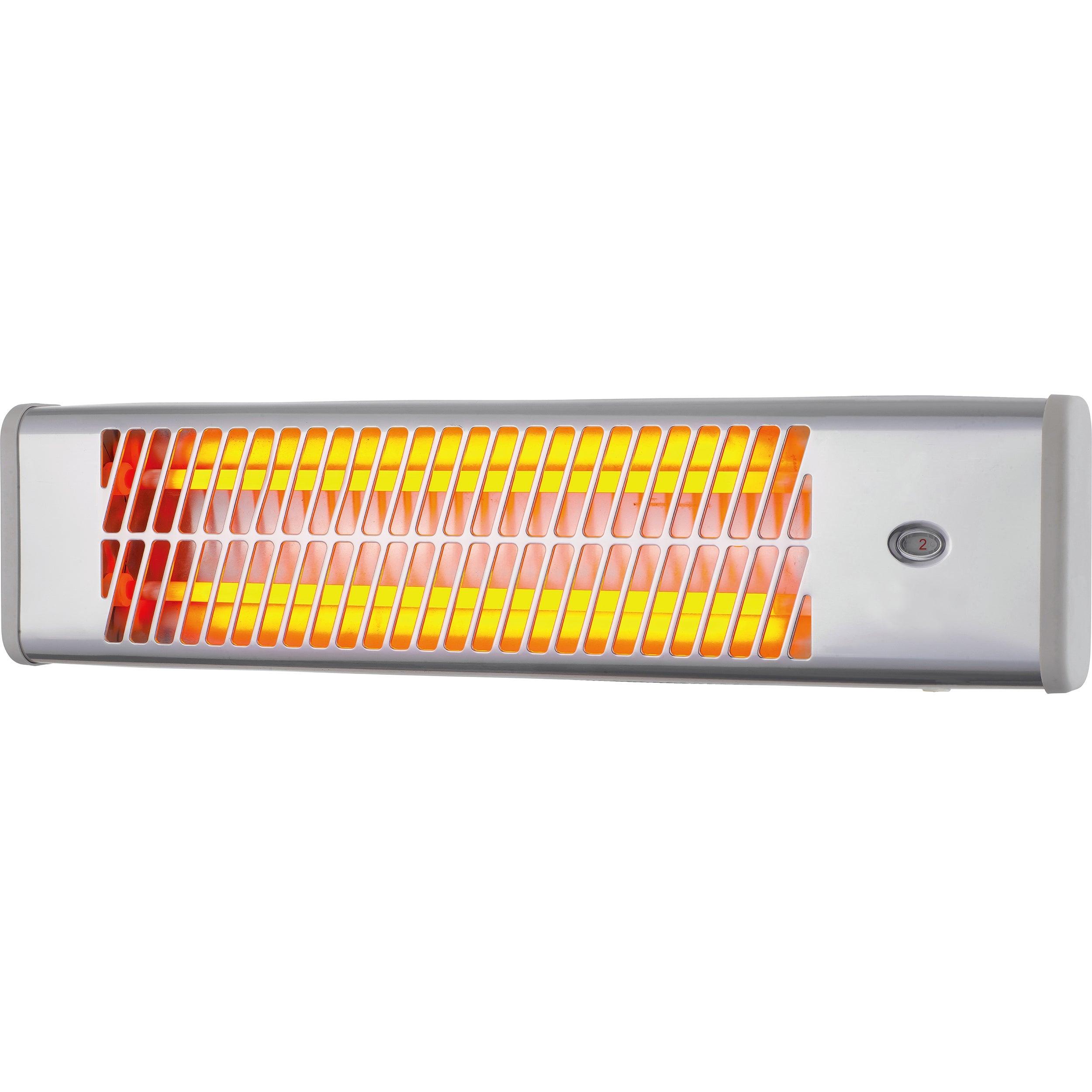 Réglette infrarouge électrique EQUATION Quint 18 11800 W