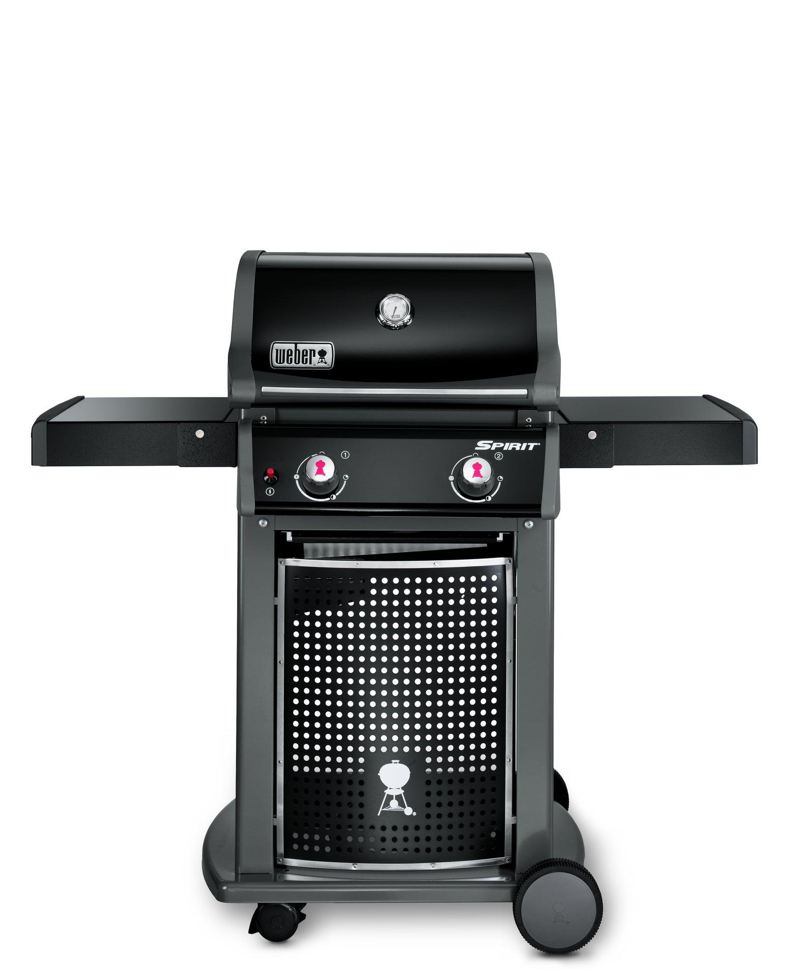 Barbecue à gaz Weber Spirit 2 E 210 Black avec Plancha