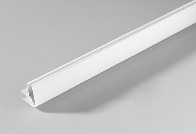 Profil D Angle Pvc Blanc 2 Cm X 1 1 Cm L 2 6 M Leroy Merlin
