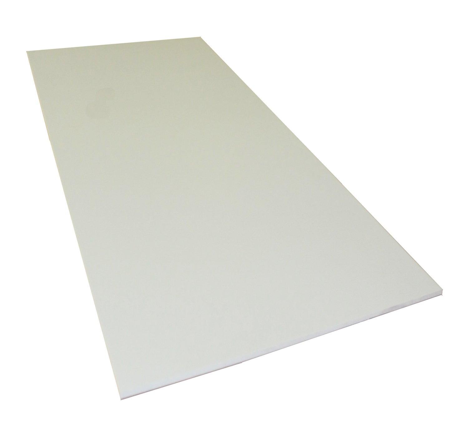 blanc Plaque coup/é de PE rigide 495 x 495 x 10 mm naturel Poly/éthyl/éne