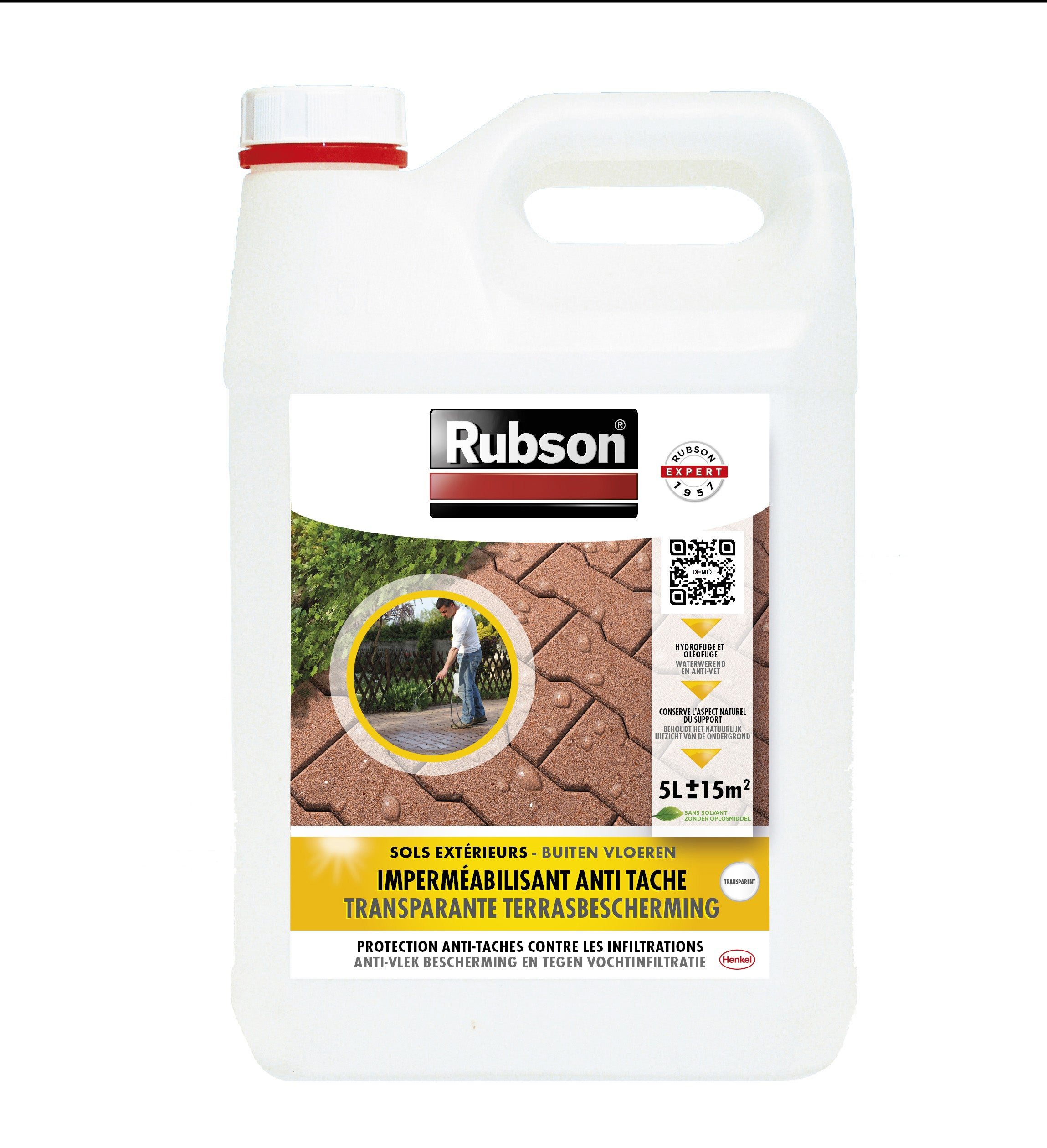 Impermeabilisant Sol Invisible Rubson Incolore 5 L Leroy Merlin